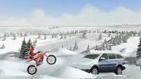冰山雪地摩托车第一关
