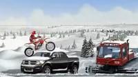 冰山雪地摩托车第三关