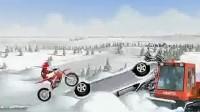 冰山雪地摩托车第五关