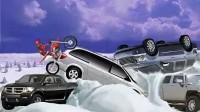 冰山雪地摩托车第十四关第一部分
