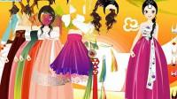 韩国美女换装展示四