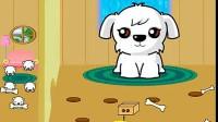 小狗偷骨头