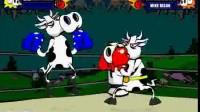 奶牛拳击赛