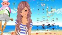 沙滩城堡公主展示三