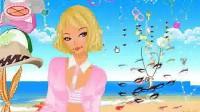 沙滩城堡公主展示五