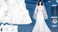 洁白婚纱展示一
