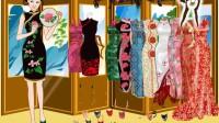 中国旗袍美女展示三