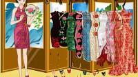 中国旗袍美女展示四