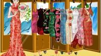 中国旗袍美女展示五