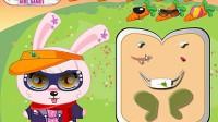 粉红兔兔换装展示一