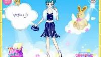 宝石蓝小公主展示三