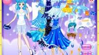 宝石蓝小公主展示五