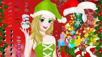圣诞美人化妆展示三