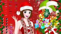 圣诞美人化妆展示五