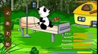 喂养宠物熊猫