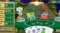 海绵宝宝玩纸牌第一关