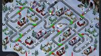 雪天为火车指路