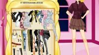 时尚美腿模特儿展示四