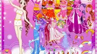 美丽七公主展示一