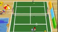 双人网球高手单人