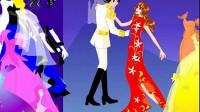 王子和公主的婚礼 展示一