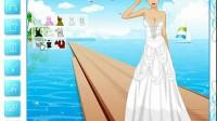 海边美丽新娘 展示一