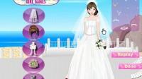 海边时尚新娘 展示一