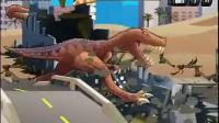 恐龙大战火箭车第三部分