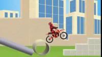 越野摩托车挑战第一关