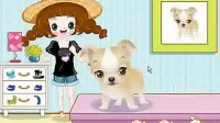 MM和宠物狗 展示一
