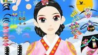 韩国古装女孩展示三