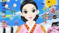 韩国古装女孩展示四