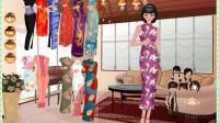 古装旗袍中国美人展示一