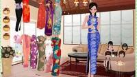 古装旗袍中国美人展示三