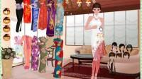 古装旗袍中国美人展示五