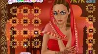 印度新娘化妆展示五