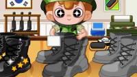 小小擦鞋工演示1