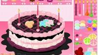 制作七彩蛋糕第二关