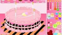 制作七彩蛋糕第三关