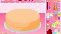 制作七彩蛋糕第四关