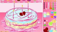 制作七彩蛋糕第五关