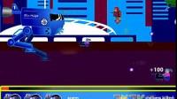 蓝色机器人