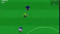 卡丁人与方块头足球赛第1场比赛