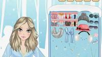 冬装美女—绒绒耳罩