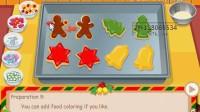 泰莎制作圣诞曲奇饼-3