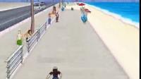 海边街头滑板-1
