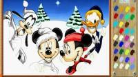 米奇画板圣诞版—快乐圣诞