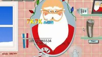 圣诞老人刮胡子  5