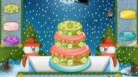 圣诞小熊蛋糕—1