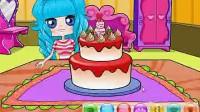 小可爱开蛋糕派对1